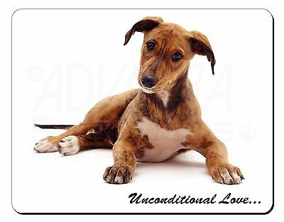 Lurcher Dog-With Love Computer Mouse Mat Christmas Gift Idea, AD-LU2uM