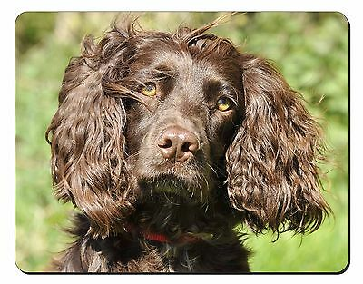 Chocolate Cocker Spaniel Dog Computer Mouse Mat Christmas Gift Idea, AD-SC4M