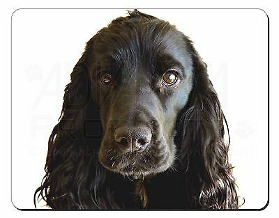 Black Cocker Spaniel Dog Computer Mouse Mat Christmas Gift Idea, AD-SC8M