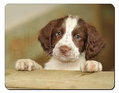 Springer Spaniel Puppy Dog Computer Mouse Mat Christmas Gift Idea, AD-SS76M