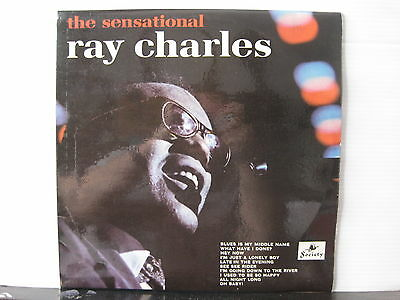 RAY CHARLES The Sensational SOCIETY RECORDS VINYL LP Free UK Post