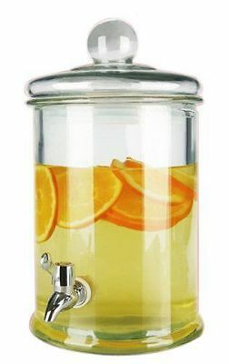 Gagitech™ Glass Drinks Dispenser 5L For Beverages ideal for party's & barbecue