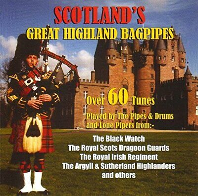 'SCOTLAND'S GREAT HIGHLAND BAGPIPES' CD (Bagpipe Music)