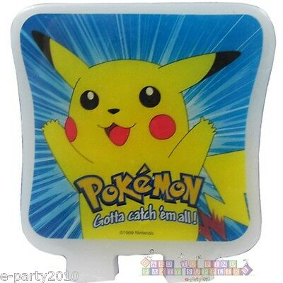 POKEMON Pikachu CAKE CANDLE ~ Vintage Birthday Party Supplies Decorations Baking