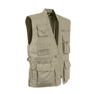 Rothco 8567 Plain Clothes Concealed Carry Vest - Black, Olive Drab and Khaki