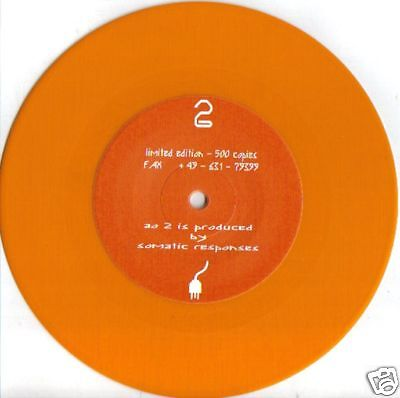 "agent orange 2 - Somatic Responses-  7""  -    NEUWARE"