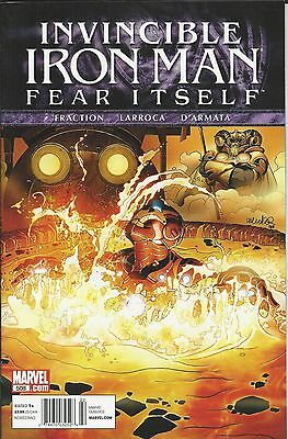 Invincible Ironman comic issue 508 Modern Age First Print Marvel