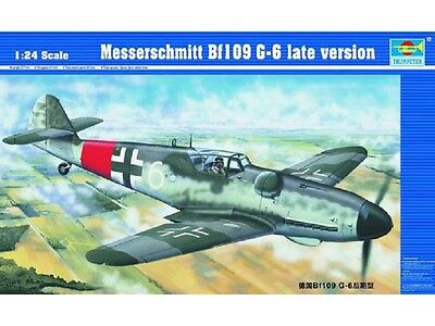 TRUMPETER® 02408 Messerschmitt Bf41109G-6 Late Version in 1:24