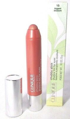 Clinique Chubby Stick Shadow Tint for Eyes -15 Biggest Blossom- new