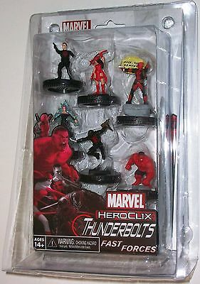 THUNDERBOLTS FAST FORCES PACK Deadpool Marvel HeroClix