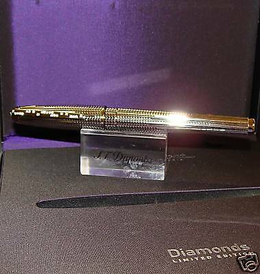 S.T. DUPONT Diamond Drops Fountain Pen LIMITED EDTION