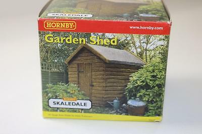 OO Scale Hornby Skaledale Garden Shed R8576 FNQHobbys