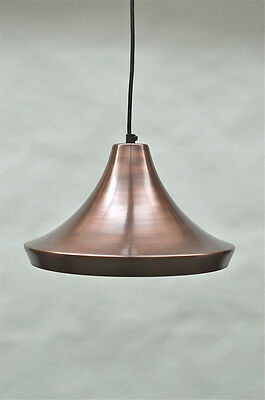 Stylish Danish design aged copper finish hanging light wired pendant lamp DD2W