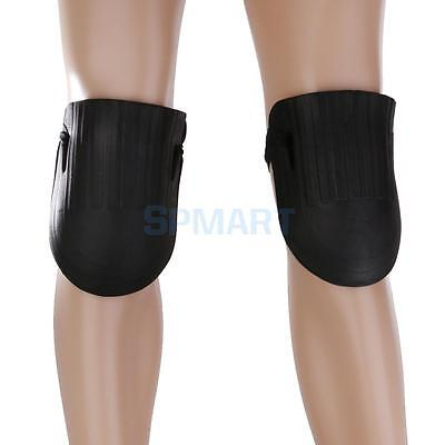 Hard Surface Black EVA Foam Knee Protection Garden Kneepads with Strap