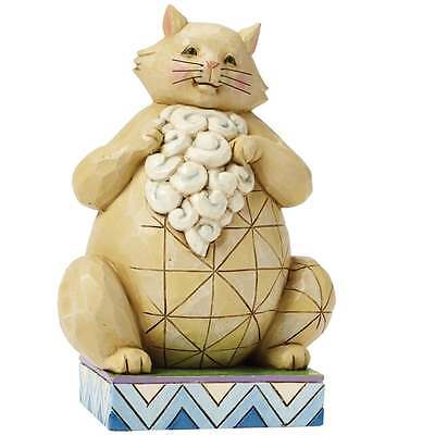 Jim Shore Heartwood Creek Small Lazy Cat Figurine New Boxed 4047075