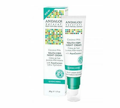 ANDALOU NATURALS Quenching (All Skin Types) Coconut Youth Firm Night Cream 50g