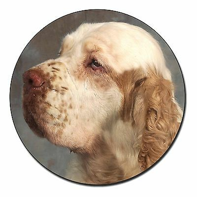 Clumber Spaniel Dog Fridge Magnet Stocking Filler Christmas Gift, AD-CS1FM