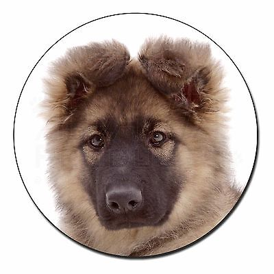 AD-GS2FM German Shepherd Puppy Fridge Magnet Stocking Filler Christmas Gift