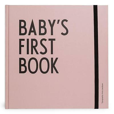 Design Letters Babybuch Babys First Book Rosa