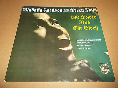 "Mahalia Jackson / Percy Faith "" The Power And The Glory "" 7"" Ep Ex/vg 1960"