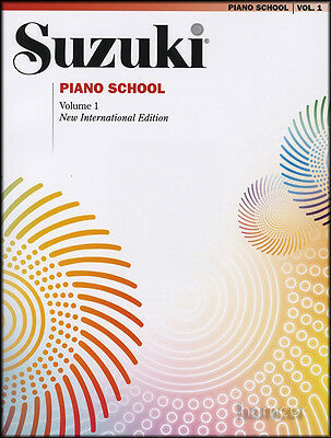 Suzuki Piano School Volume 1 Book Learn How to Play Music Method