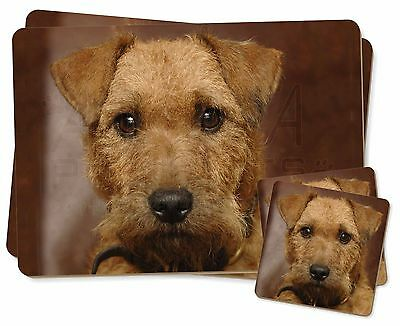 Lakeland Terrier Dog Twin 2x Placemats+2x Coasters Set in Gift Box, AD-LT2PC