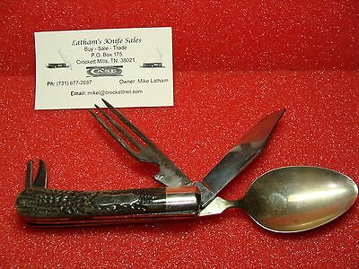 Union Cut Co. Olean, Ny--1911-51--Hobo/mess Kit--Knife,spoon,fork,can Opener
