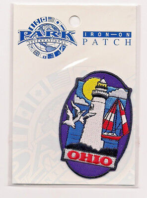 Souvenir Travel Patch - The State Of Ohio - Lighthouse