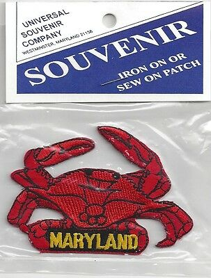 Souvenir Patch - State Of Maryland