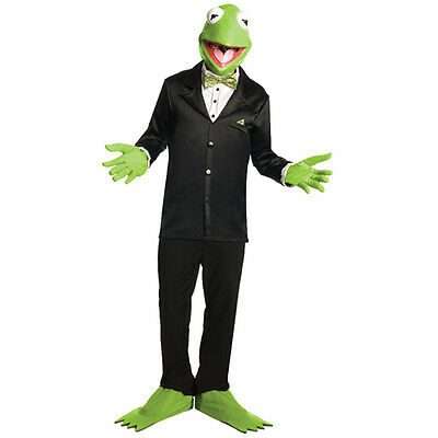 Frog Costume Kermit Muppets Animal Costume Carnival Fancy Dresses