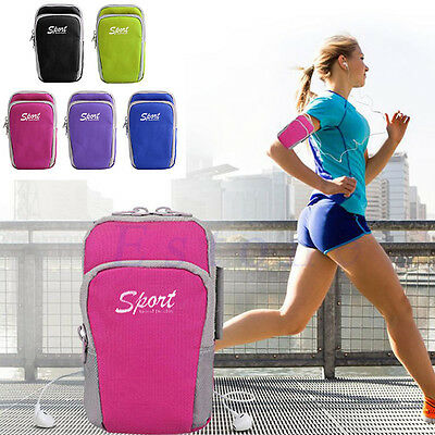 Sports Arm Band Bag Case Running Pouch Jogging Outdoor For iPhone 6 Plus Samsung