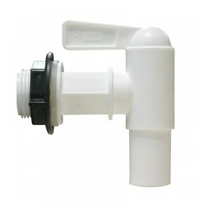 """Outlet tap Rain container 19 mm (3/4"""") NW 18 white GRAPH GARANTIA 504011"""