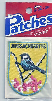 Souvenir Patch - State Of Massachusetts