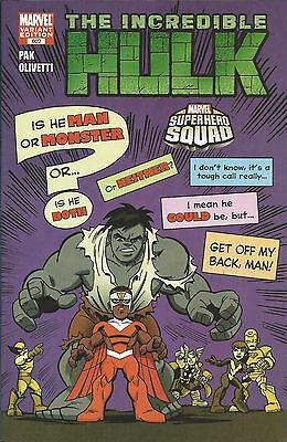 Marvel The Incredible Hulk comic 602 Limited variant
