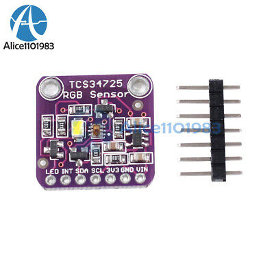 TCS34725 RGB Light Color Sensor Recognition Module For Arduino