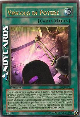 M/NM ☻ Vincolo del Potere ☻ Ultra Rara ☻ CRV IT037 ☻ YUGIOH ANDYCARDS