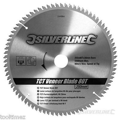 250mm TCT Veneer Blade 80Teeth – Circular saw Blades 244964
