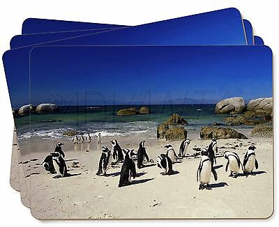 Beach Penguins Picture Placemats in Gift Box, AB-89P