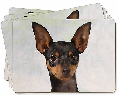English Toy Terrier Dog Picture Placemats in Gift Box, AD-ET1P
