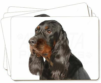 Gordon Setter Dog Picture Placemats in Gift Box, AD-GOR1P