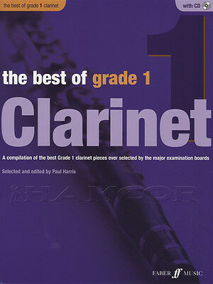 The Best of Grade 1 Clarinet Sheet Music Book with CD & Piano Accompaniment