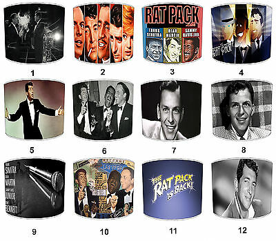 Lampshades To Match Rat Pack Frank Sinatra Dean Martin Sammy Davies Jnr Pictures