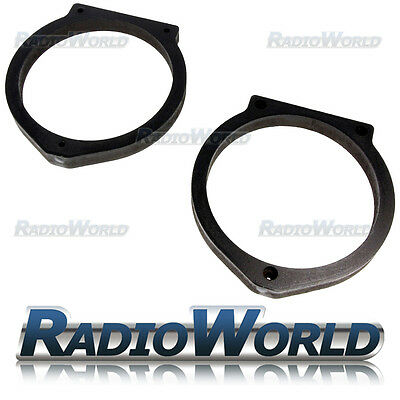 "Honda Accord / Insight 6.5"" MDF Door Speaker Adaptors / Rings / Spacers"