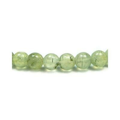 Prehnite Round Beads 8mm Green 45+ Pcs Gemstones DIY Jewellery Making Crafts