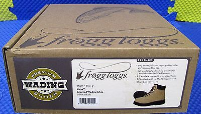 FROGG TOGGS Rana Multi-Cleated Wading Boot-251211 Khaki Color CHOOSE YOUR SIZE!!