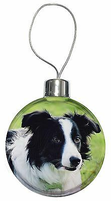 Border Collie Dog Christmas Tree Bauble Decoration Gift, AD-CO69CB