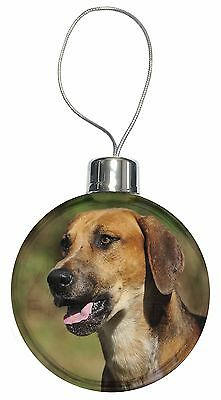 Foxhound Dog Christmas Tree Bauble Decoration Gift, AD-FH1CB