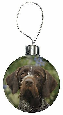 German Wirehaired Pointer Christmas Tree Bauble Decoration Gift, AD-GWP1CB