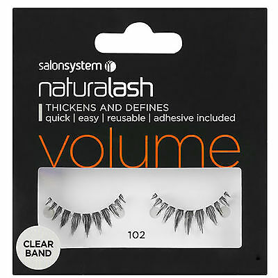 Naturalash VOLUME 102 Eye Lash Strip Thickens Defines Quick Easy Salon System