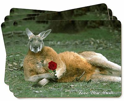 Kangaroo+Rose 'Love You Mum' Picture Placemats in Gift Box, AK-1RlymP